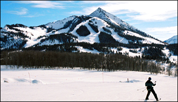 Crested Butte ski area.