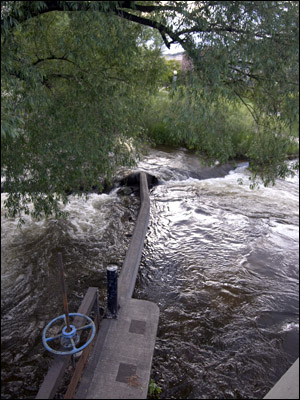Boulder Creek at Broadway.