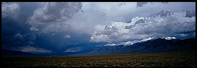 [The northern edge of the San Luis Valley.]