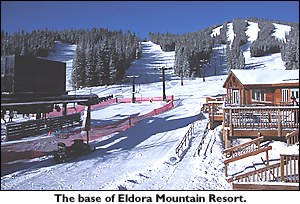 Eldora ski area base