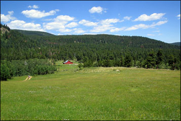 Caribou Ranch Open Space Park near Nederland, Colorado