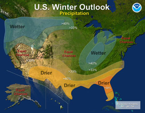 2010-2011 Winter Weather Outlook - Precipitation