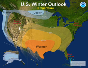 2010-2011 Winter Weather Outlook - Temperature